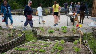 Valangin: le château présente neuf jardins médiévaux «fascinants»