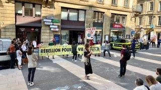 Neuchâtel: militants pro-climat condamnés
