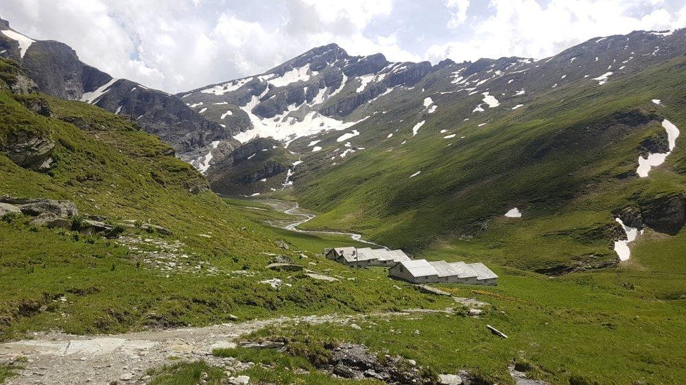 L'Alp Tomül est situé sur le chemin des Walser.