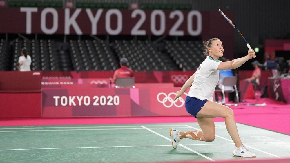 Sabrina Jaquet disputera encore deux rencontres à Tokyo.
