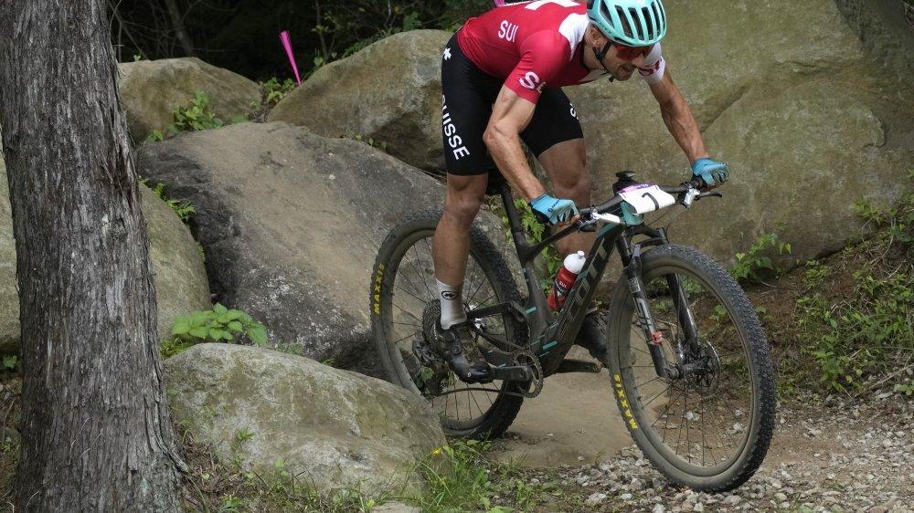 Nino Schurter n'a de loin pas réalisé la course parfaite au Japon.
