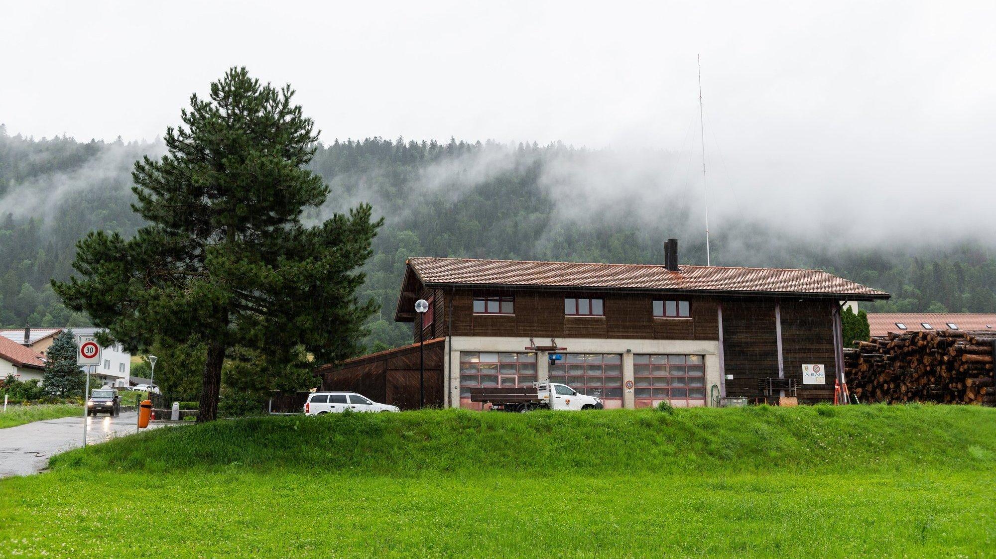 C'est en découvrant le gabarit que les habitants de Chézard ont appris le projet d'antenne 5G.