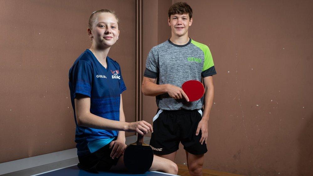 Nina Tullii et Barish Moullet figurent dans les cadres nationaux juniors depuis de nombreuses années.