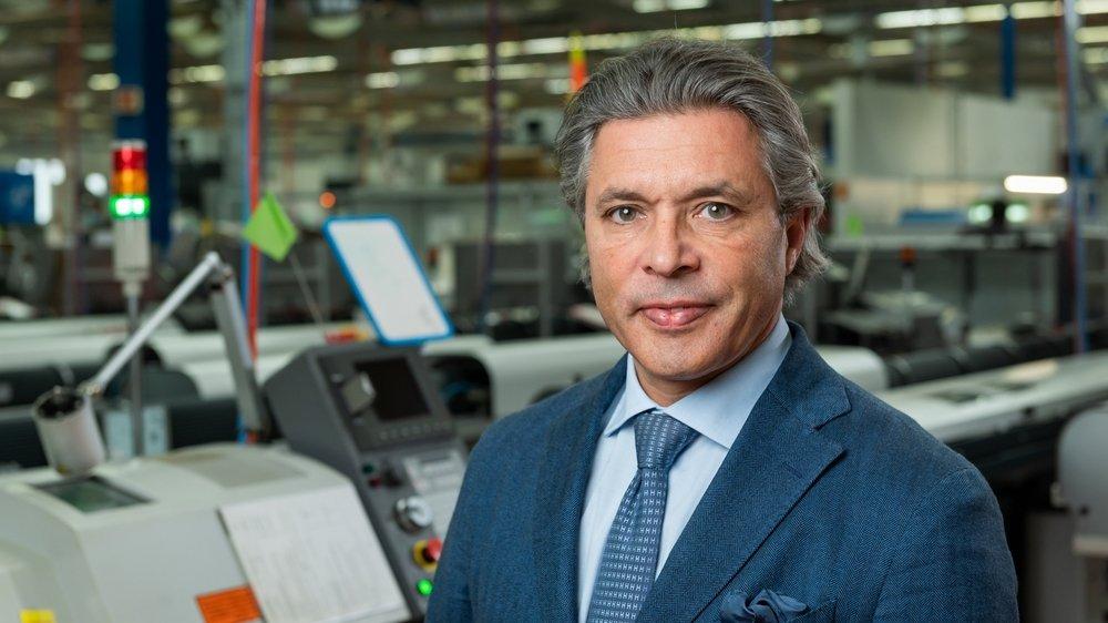 Emmanuel Raffner, propriétaire de l'entreprise de décolletage Lauener à Boudry, accède à la présidence de la Chambre neuchâteloise du commerce et de l'industrie.