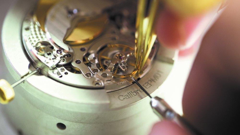 En France, Pequignet est la seule manufacture à disposer de son propre mécanisme, le calibre Royal, conçu en 2011. Photo Laurent Cheviet