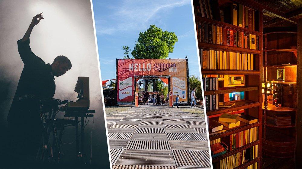 Cinq idées pour cet été à Bienne.