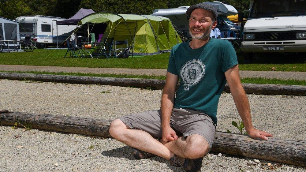 Pour Ludovic Ammann, qui exploite La Belle Verte depuis 2009, l'essentiel est d'offrir un moment de détente aux résidents.