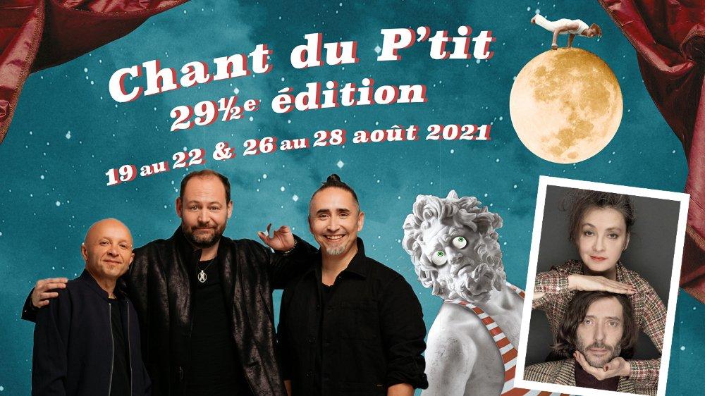 Tryo et Catherine Ringer, les têtes d'affiches du Chant du P'tit 2021.