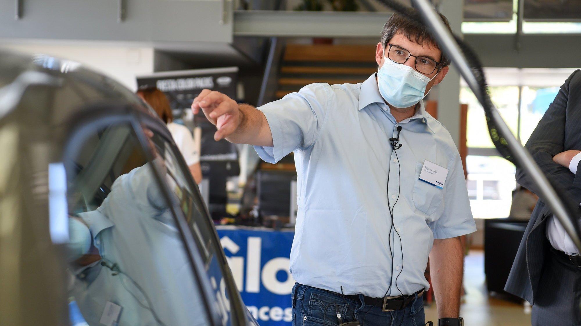 «C'est la première fois depuis 23 ans que je vois autant de grêle en deux semaines», dit Stéphane Caloz, expert automobile de La Bâloise.