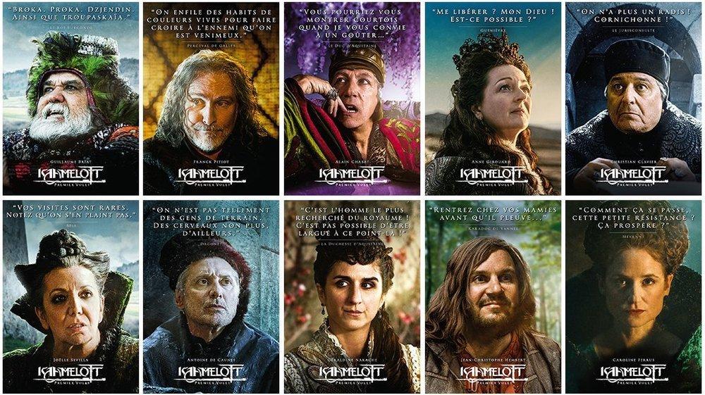 En juin dernier, Alexandre Astier avait dévoilé une série de posters des personnages du film.