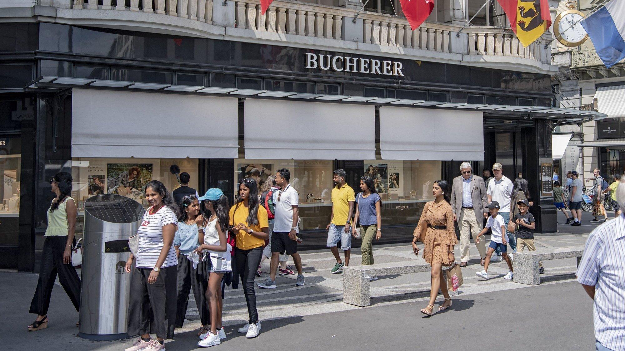 En Suisse et à Lucerne particulièrement, les détaillants horlogers pâtissent de l'absence des touristes asiatiques.
