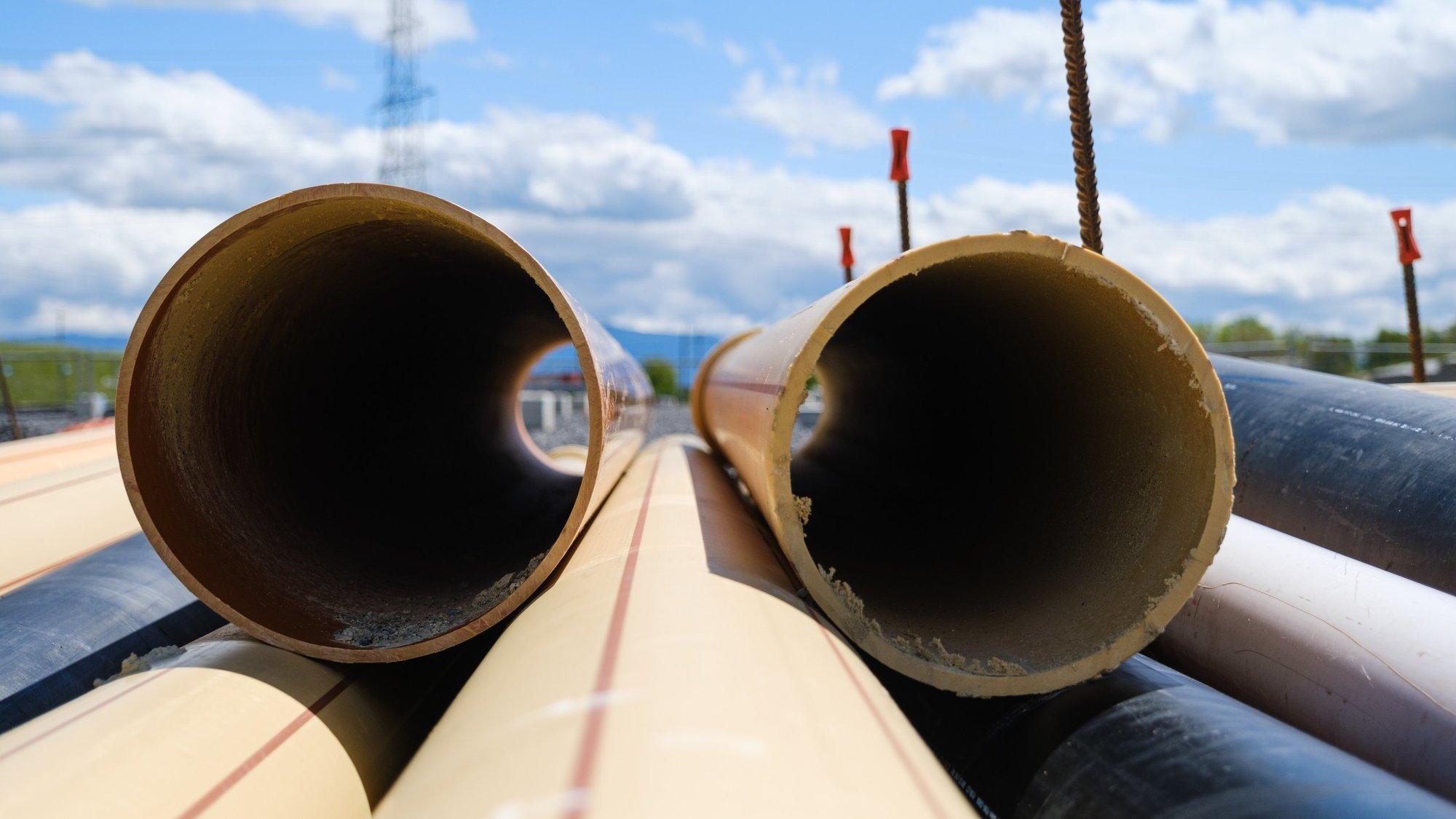 La pénurie de matériaux de construction touche notamment les tuyaux de canalisation.