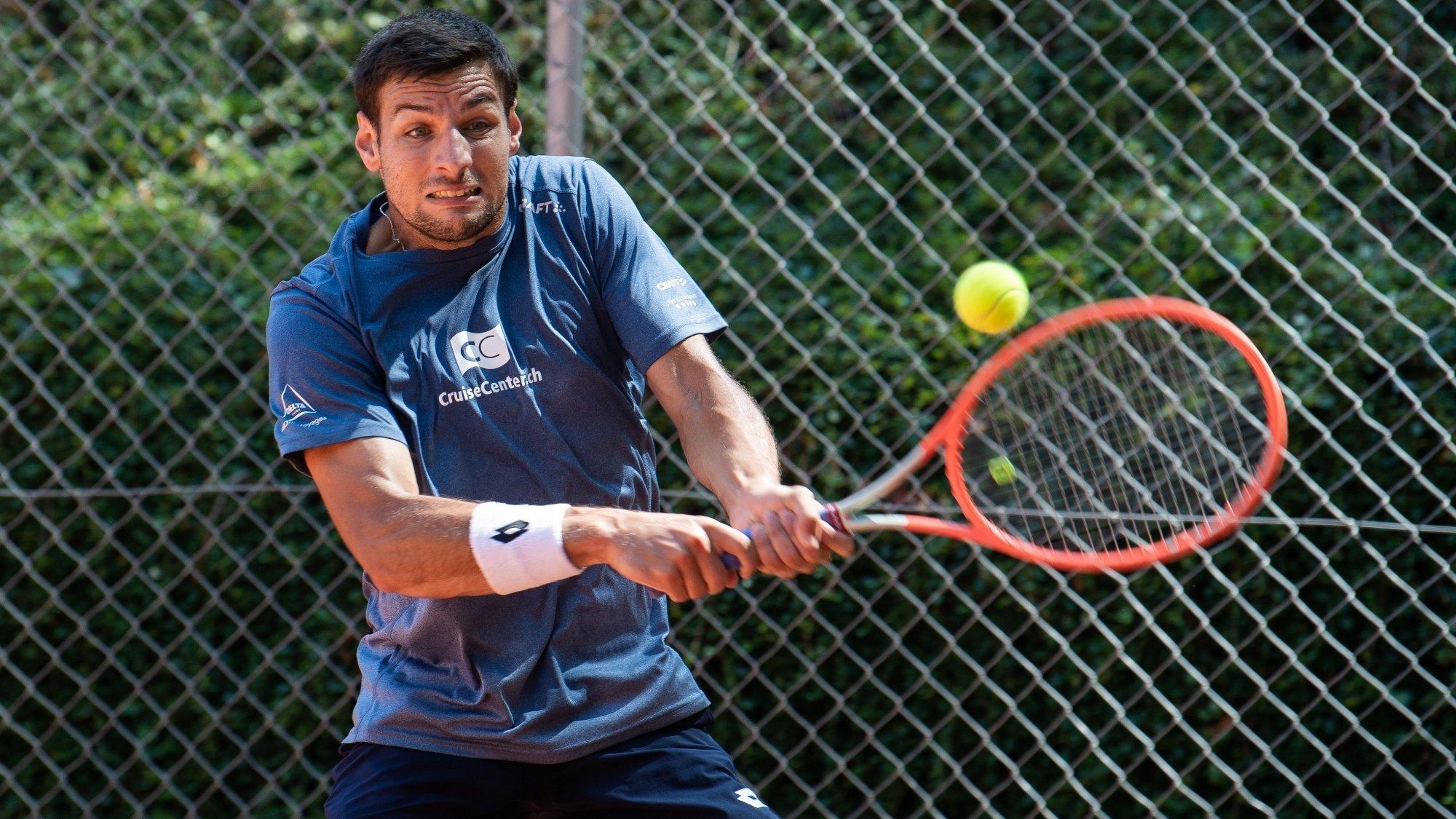 En remportant son simple et son double, Bernabe Zapata Miralles a permis au CT Neuchâtel de conserver sa place en ligue nationale A.