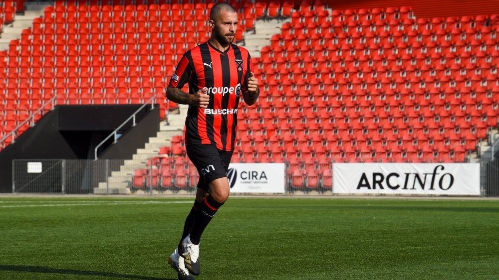 Igor Djuric a retrouvé le terrain à la Wefox Arena. Le défenseur central xamaxien a joué une bonne demi-heure face à Schaffhouse.