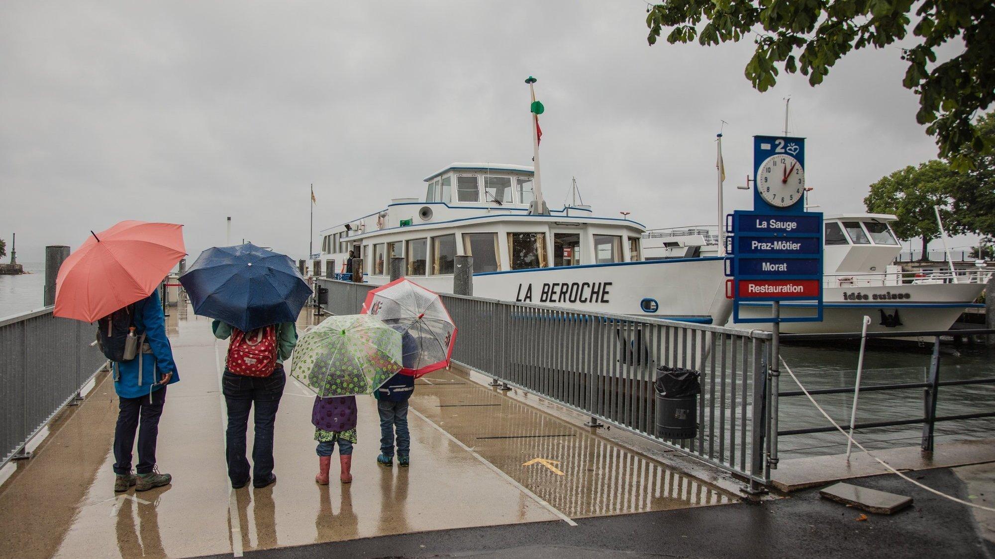 La Navigation sur les lacs de Neuchâtel et Morat n'a accueilli que 19 000 passagers en juillet, contre 60 000 lors d'un mois d'été standard.