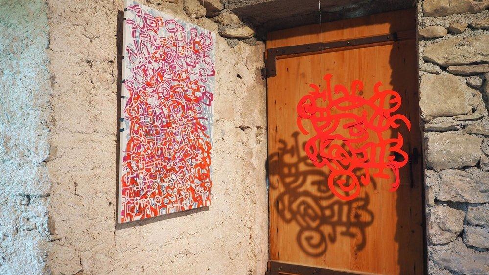 A travers son art, Alina Mnatsakanian se questionne sur son identité.