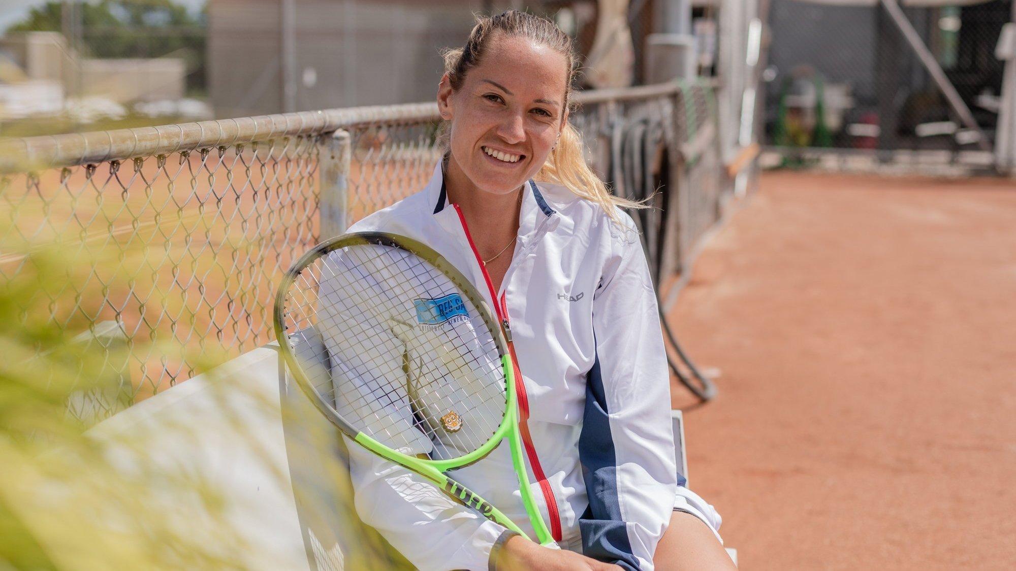 Actuellement 257e du classement WTA, Conny Perrin vise à terme le top-100 mondial.