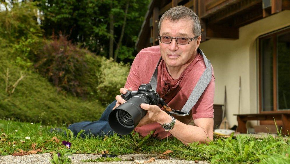 Retraité après 16 ans au Conseil communal du Locle, Jean-Paul Wettstein renoue avec sa passion pour la photographie.
