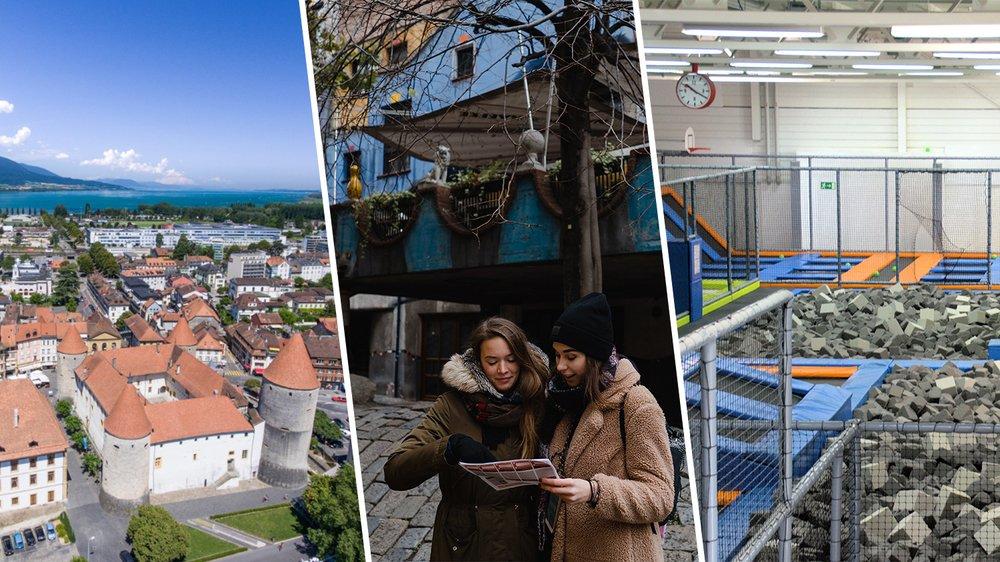 Une sélection d'activités à faire à Yverdon-les-Bains cet été.