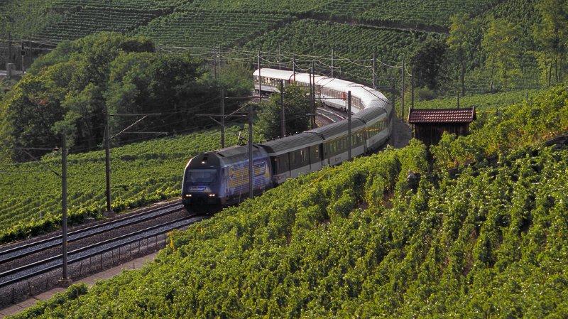 Trafic ferroviaire: horaires modifiés entre Lausanne et Brigue cet été