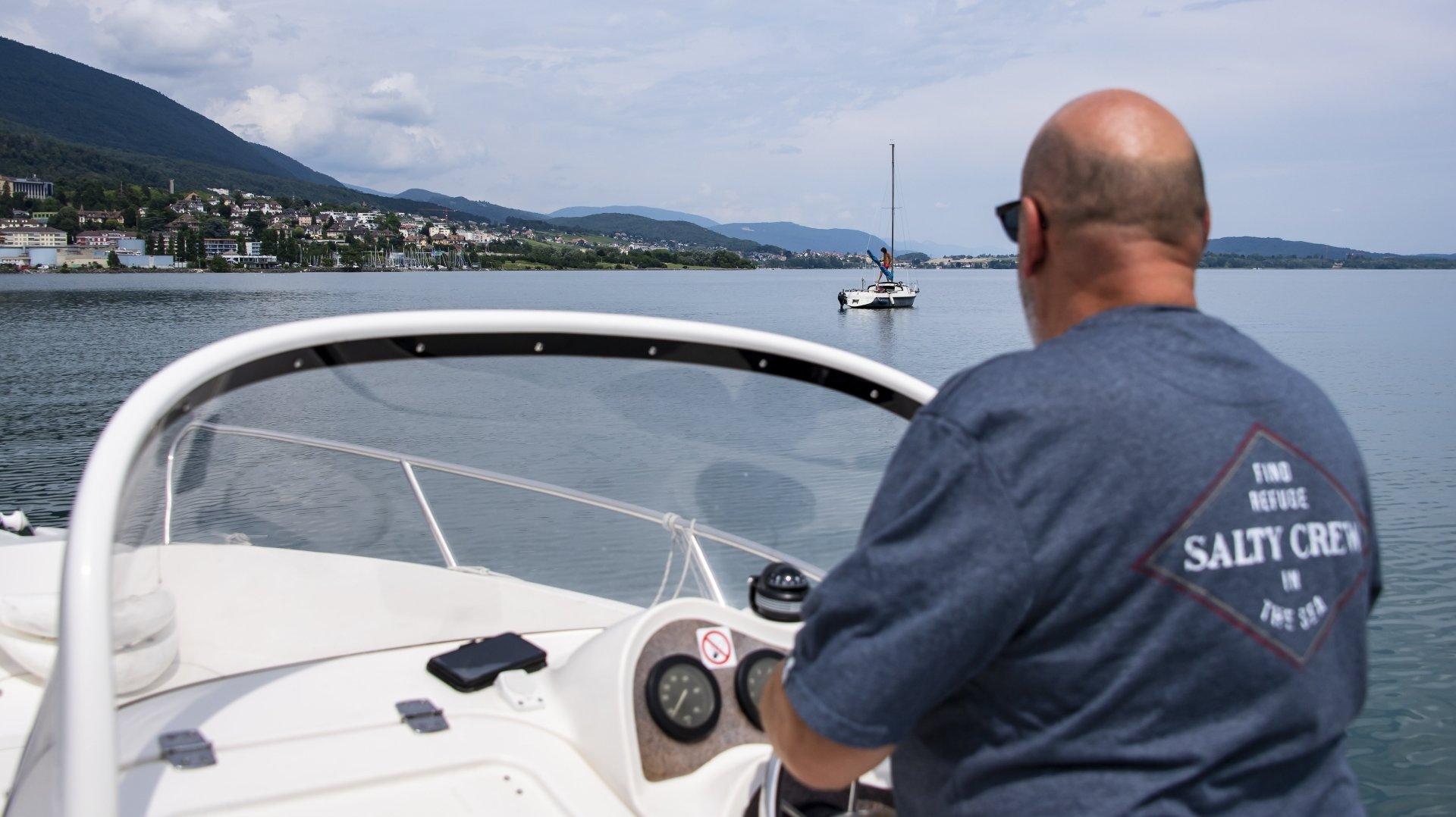 Vidéo: les bateaux font leur grand retour sur le lac de Neuchâtel