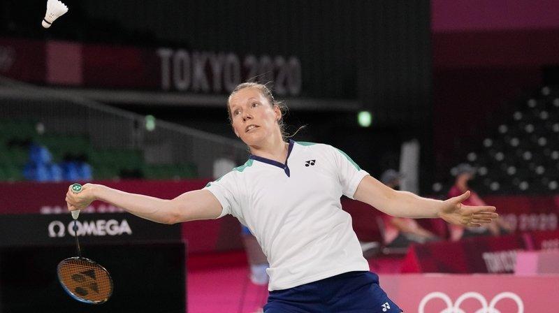 Sabrina Jaquet quitte les Jeux olympiques de Tokyo sans victoire.
