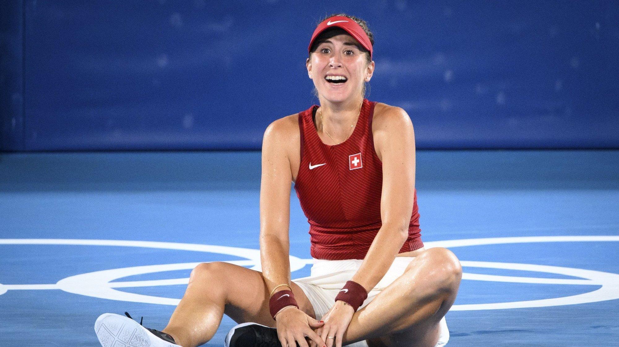 Belinda Bencic de retour sur le circuit, portée par l'esprit olympique