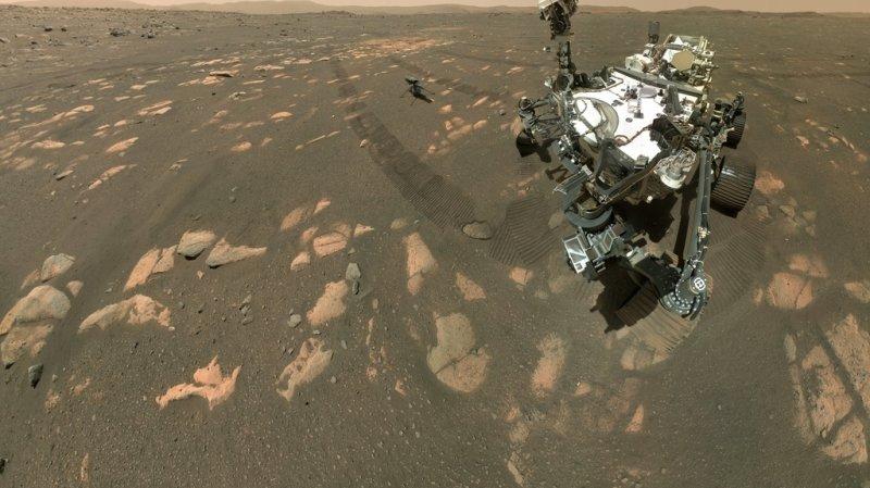 Espace: sur Mars, le rover de la Nasa a commencé sa collecte d'échantillons