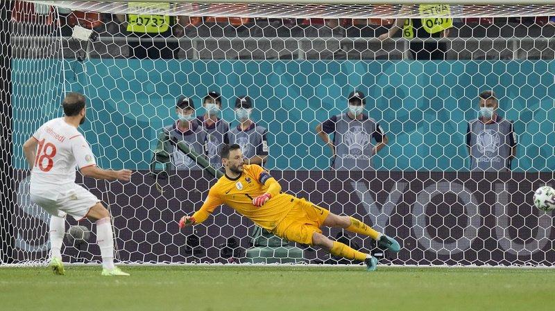Le tir au but d'Admir Mehmedi contre la France.