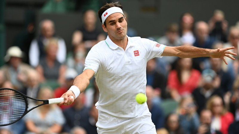 Tennis – Wimbledon: Roger Federer bat Lorenzo Sonego et file en quart de finale