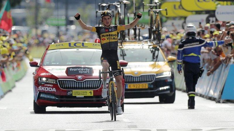 Cyclisme – Tour de France: la 15e étape pour Sepp Kuss
