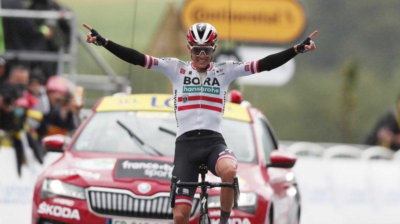 Cyclisme – Tour de France: l'Autrichien Konrad gagne en solitaire la 16e étape