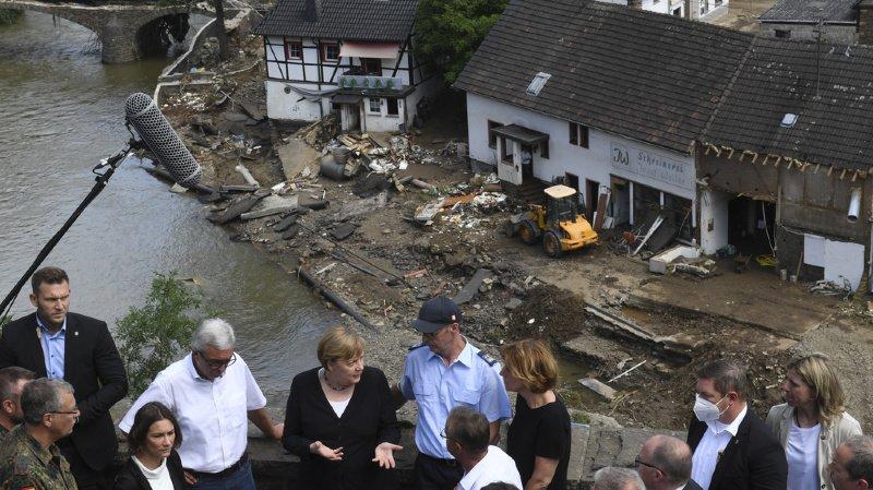 Inondations en Europe: au moins 190 morts, l'Allemagne à nouveau touchée