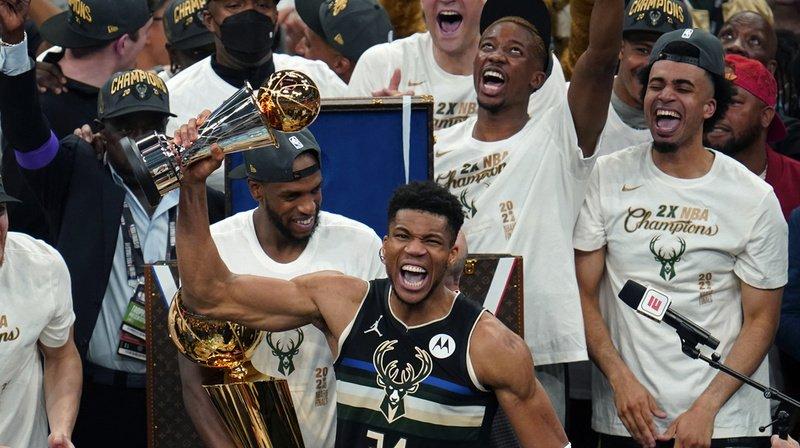 Les Bucks ont finalement remporté le titre.