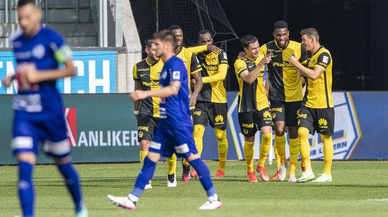 Football: Young Boys s'impose sur le fil 4-3 à Lucerne