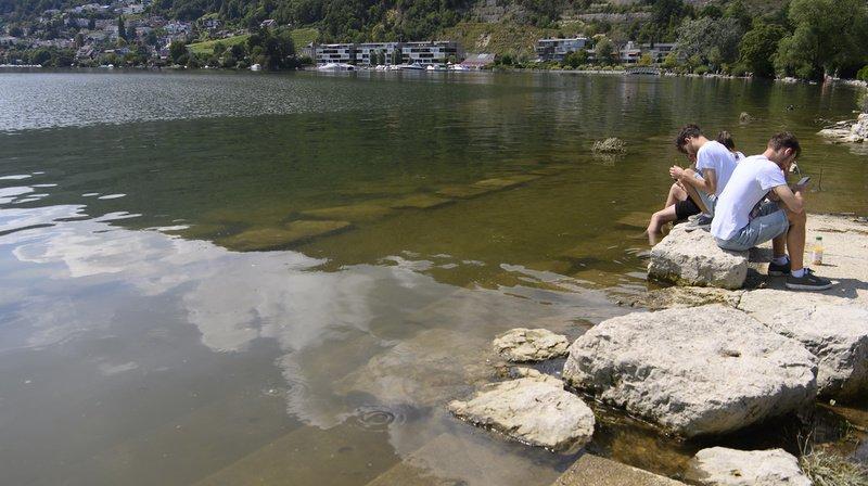 Intempéries: le niveau des lacs suisses est sous contrôle, le ciel continue de gronder