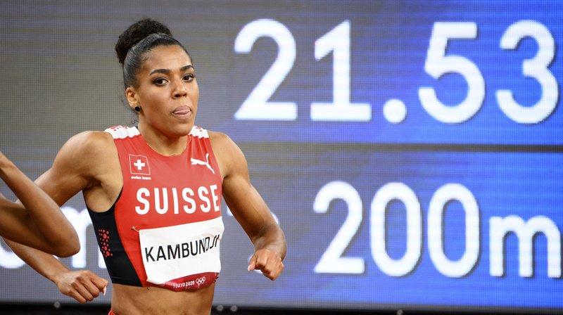 JO 2021 – Athlétisme: Mujinga Kambundji 7e de la finale du 200 m, remporté par Thompson-Herah