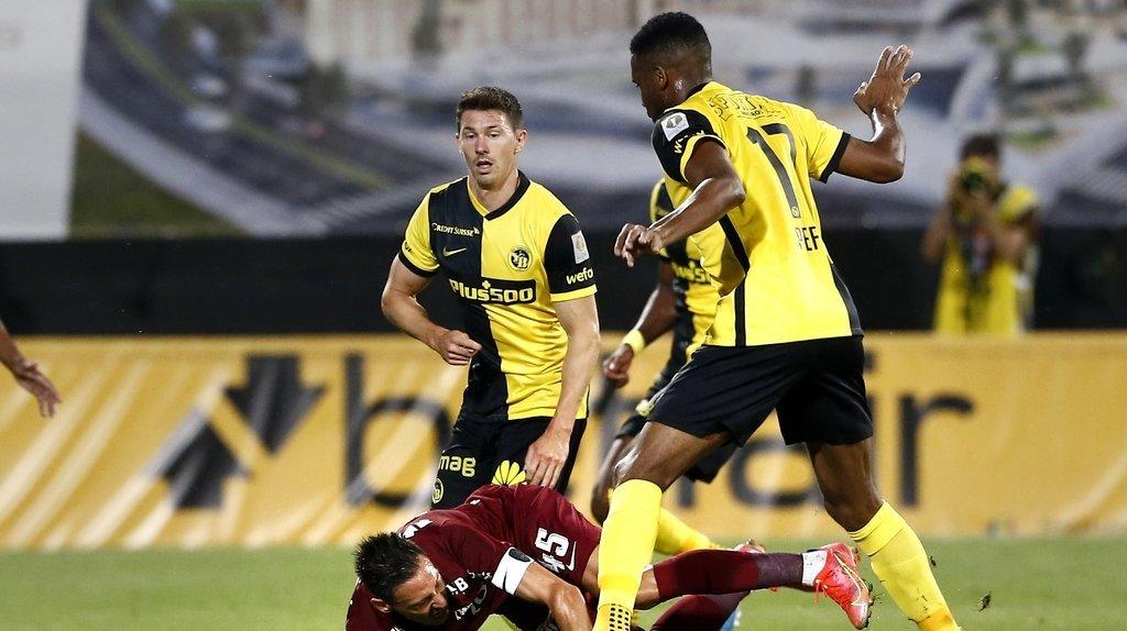 Football – Ligue des champions: Young Boys arrache le nul à Cluj