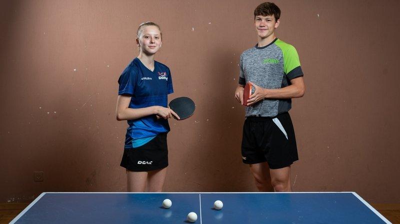 Tennis de table: bilan mitigé pour Barish Moullet et Nina Tullii dans le concours par équipes aux Européens juniors