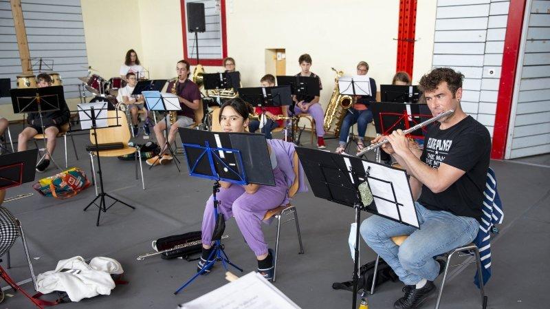 La Chaux-du-Milieu: une ambiance apocalyptique pour le camp de l'Association cantonale des musiques neuchâteloises