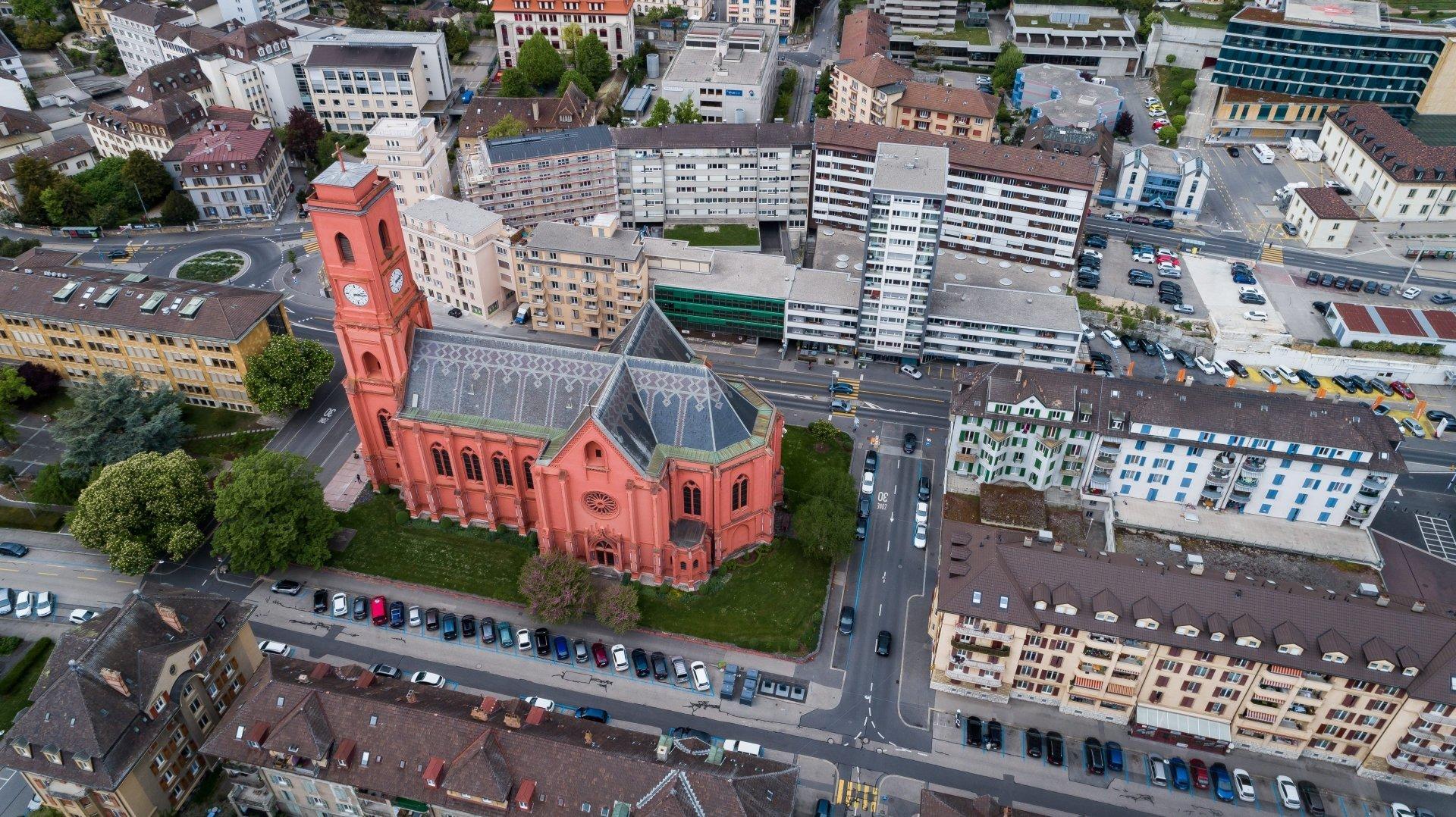 Neuchâtel: un nouvel orgue pour l'Eglise rouge