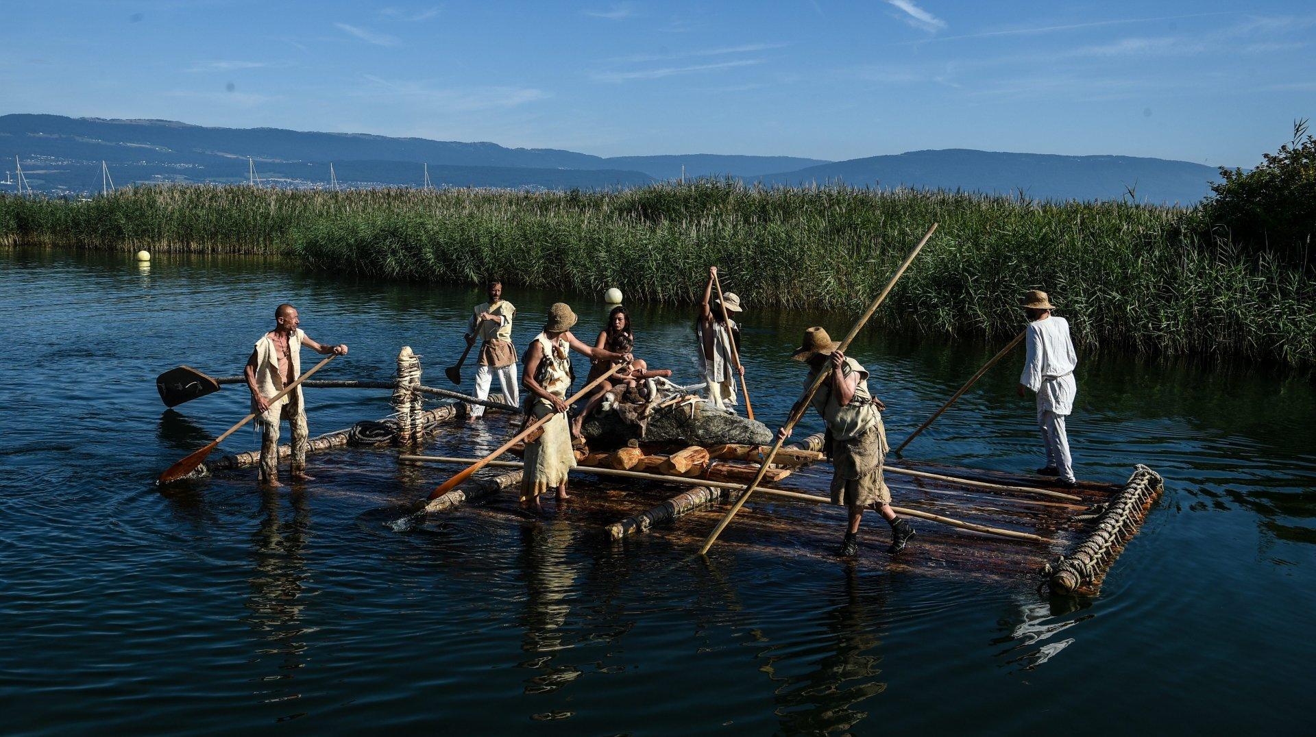 Le sud du lac de Neuchâtel retournera à la préhistoire