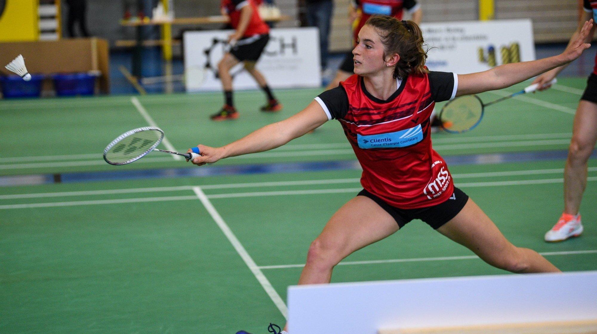 Badminton: Lucie Amiguet décroche deux podiums en Turquie