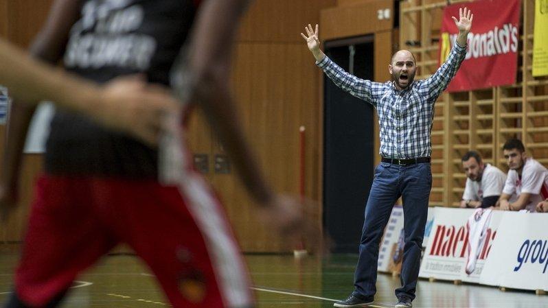 Antoine Petitjean, ici comme entraîneur du BC Boncourt, officiera comme directeur sportif d'Union Neuchâtel la saison prochaine.