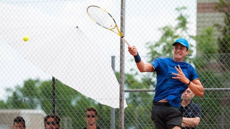 Tennis: un premier titre en guise de récompense pour le Neuvevillois Damien Wenger