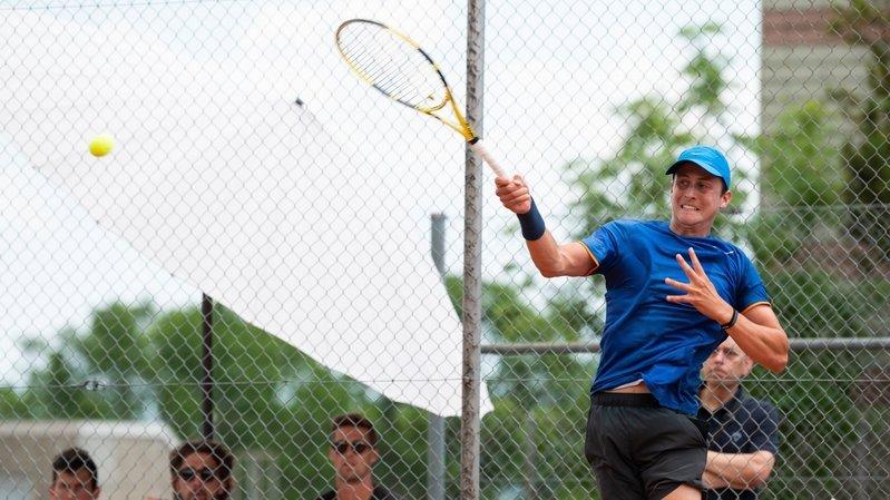 Tennis: Damien Wenger en finale du double messieurs à Bourg-en-Bresse