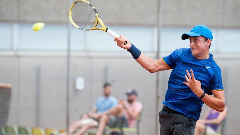 En Slovaquie, Damien Wenger n'a perdu qu'un seul set durant tout le tournoi.