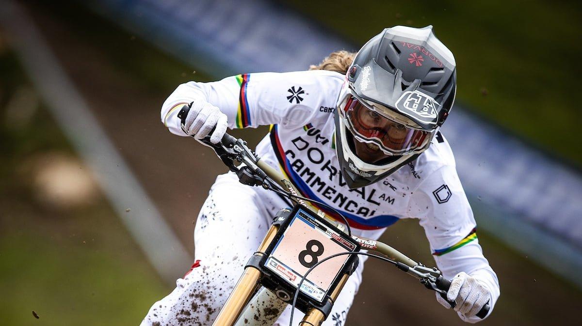 Camille Balanche troisième en Coupe du monde à Maribor