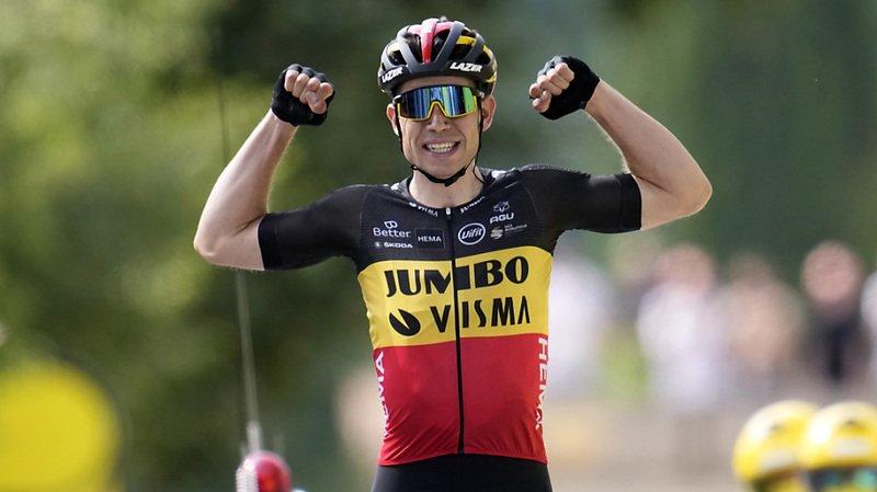 Cyclisme – Tour de France: le Belge Wout van Aert dompte le Mont Ventoux