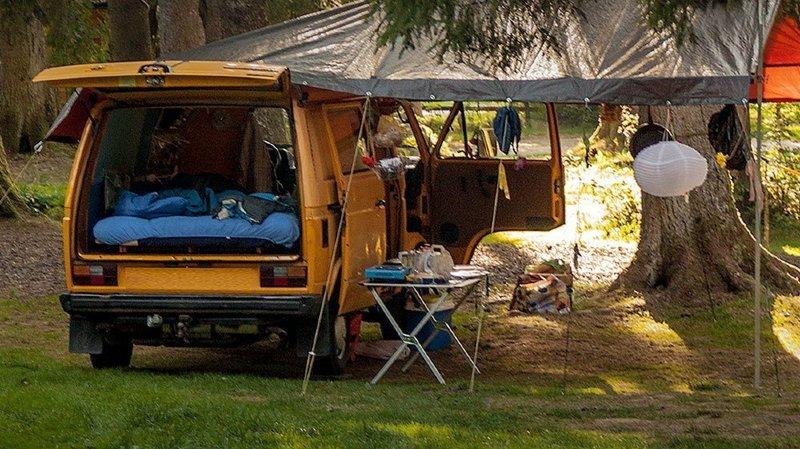 Le camping de Saignelégier, un véritable retour à la nature